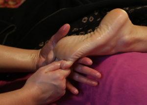 ilot nelumbo massage soin pornichet pied